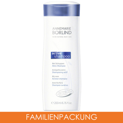 ANNEMARIE BÖRLIND SEIDE Aktiv Shampoo 3x200 ml