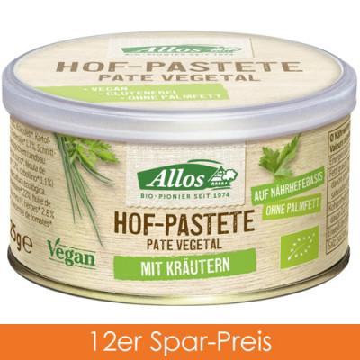 Allos Hof Pastete Kräuter 12x125g