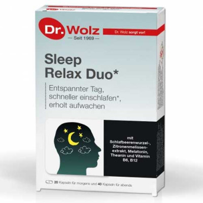 Dr. Wolz Sleep Relax Duo 60 Kps