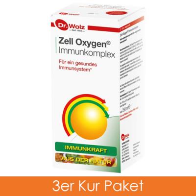 Dr. Wolz Zell Oxygen Immunkomp. Kur 3x250 ml