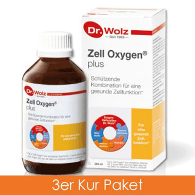Dr. Wolz Zell Oxygen plus 3x250 ml