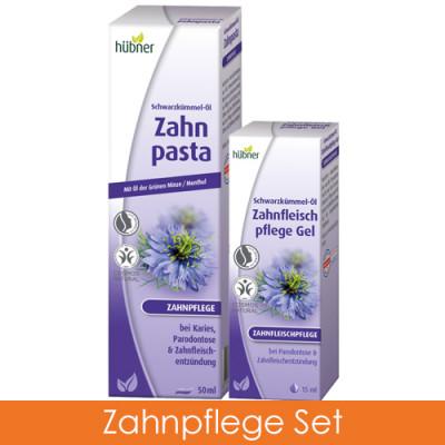 Hübner Schwarzkümmel-Öl Zahnpflege Set