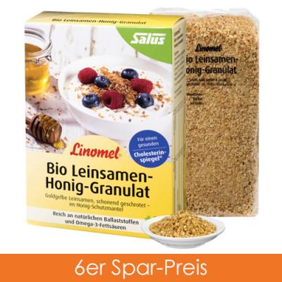 Salus Linomel Leinsamen-Honig-Granulat 6x250g
