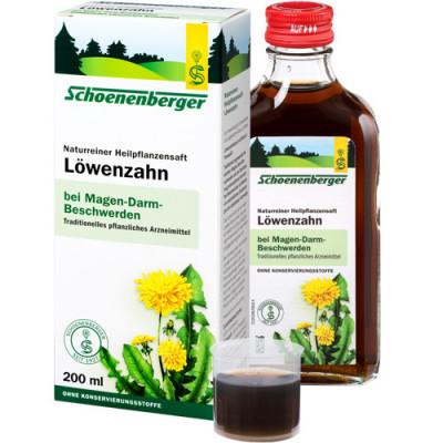 Schoenenberger Löwenzahn Saft 200 ml