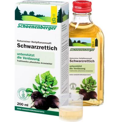 Schoenenberger Schwarzrettich Saft 200ml