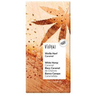 Vivani Weiße Hanf Caramel 80g