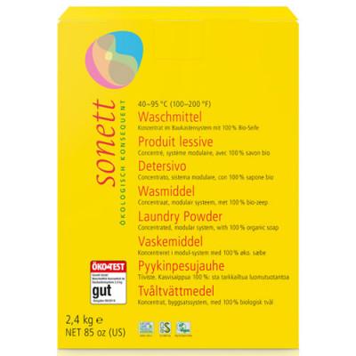 Sonett Waschmittel Pulver Konzentrat 2,4 kg