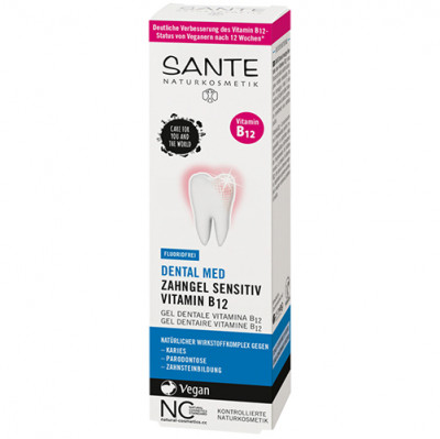 Sante DENTAL MED Zahngel Sensitiv Vitamin B12 75ml