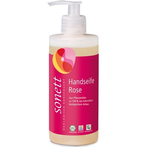 Sonett Handseife Rose 300ml