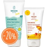 Weleda Edelweiss Sensitiv Sonnenmilch + After Sun